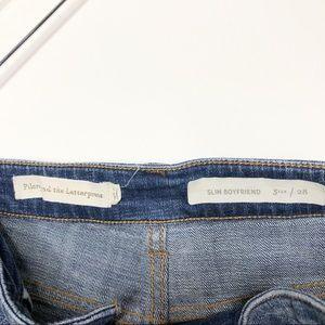 Anthropologie Shorts - Anthro | Pilcro Distressed Slim Boyfriend Shorts